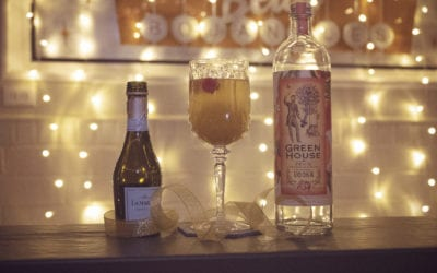 The Ball Drop: A Bubbly Cocktail to Ring in the New Year